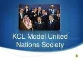 KCL MUN Fourth Session - A New Agre...