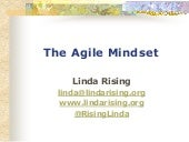 The Power of an Agile Mindset - Linda Rising