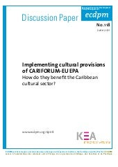Implementing cultural provisions of...