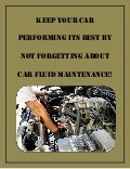 Keep your car performing its best by not forgetting about car fluid maintenance!