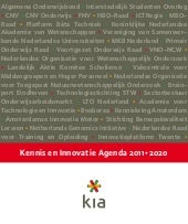 Kenniseninnovatieagenda 2011 2020