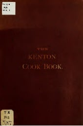 Kenton Cookbook Free E-Book