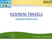 Kesineni Travels Online Bus Booking...