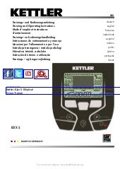 Kettler Elyx 5 Elliptical Cross tra...