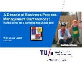 A Decade of Business Process Management Conferences: Reflections on a Developing Discipline