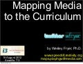 Mapping Media to the Curriculum (Aug 2012)