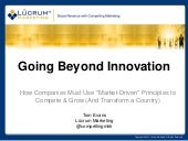 Going Beyond Innovation: How Compan...
