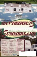 2009 Keystone Summerland Flyer Brochure Ohio