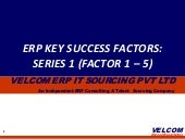 ERP Key Success Factors Series 1