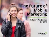 Future of Mobile Marketing in 2015