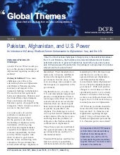 Pakistan, Afghanistan, and U.S. Power