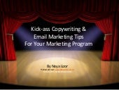 Kick-ass Copywriting & Email Market...