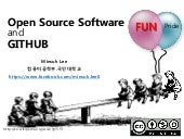 Open Source 그리고 git과 github, code review