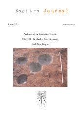 Archaeological Report - Kilsheelan,...
