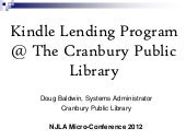 Kindle lending program