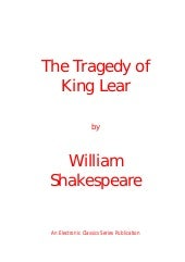 Shakespeare - King lear play