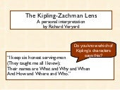 The Kipling-Zachman lens
