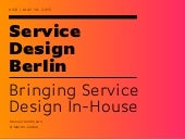 KISD Conference / Bringing Service Design In-House