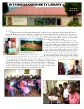 March 2014 Kitensega Community Library Newsletter