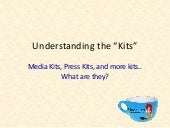 Understanding Media Kits, Press Kits, Brand Kits.. and the One Sheet.