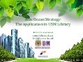 Blue Ocean Strategy: The Application In USM Library