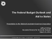 The Federal Budget Outlook and Aid ...