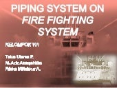 Fire Fighting System at Ship