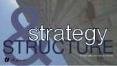Strategy & Structure - WebVisions Chicago 2015