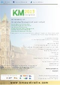 Knowledge Management Australia 2013