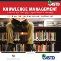 ASTD Knowledge Management Certificate