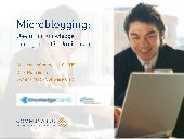 Knowledge Management and Microblogg...