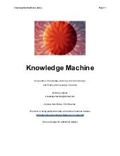 Knowledge Machine
