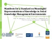 Knowledge management manifesto_mkwi...