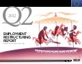EU Employment Restructuring Report Q2 2012