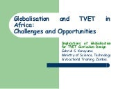 Konayuma [globalisation and TVET in...