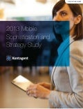 Kontagent: 2013 Mobile sophistication & strategy study May 2013