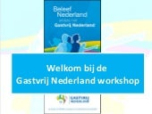 Presentatie Alv 11 November Workshop