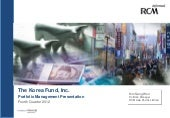 Korea Fund, Inc. video