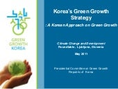 Korea's Green Growth Strategy