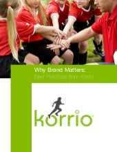 Why Brand Matters: Best Practices f...