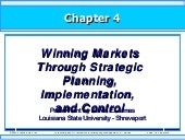 Winning Markets Through Strategic P...