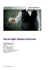 Kovair Agile Solution Overview