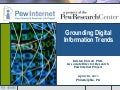 Museums and the Web: Grounding Digital Information Trends