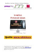 Kreative Pinterest-Ideen