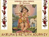 Krishna Leela Series Part 34 Akrura...
