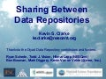 Sharing Between Data Repositories
