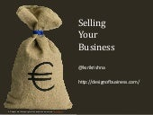 Selling Your Business - Where do you start?