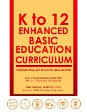 K to 12 enhanced basic ed by mi vil...