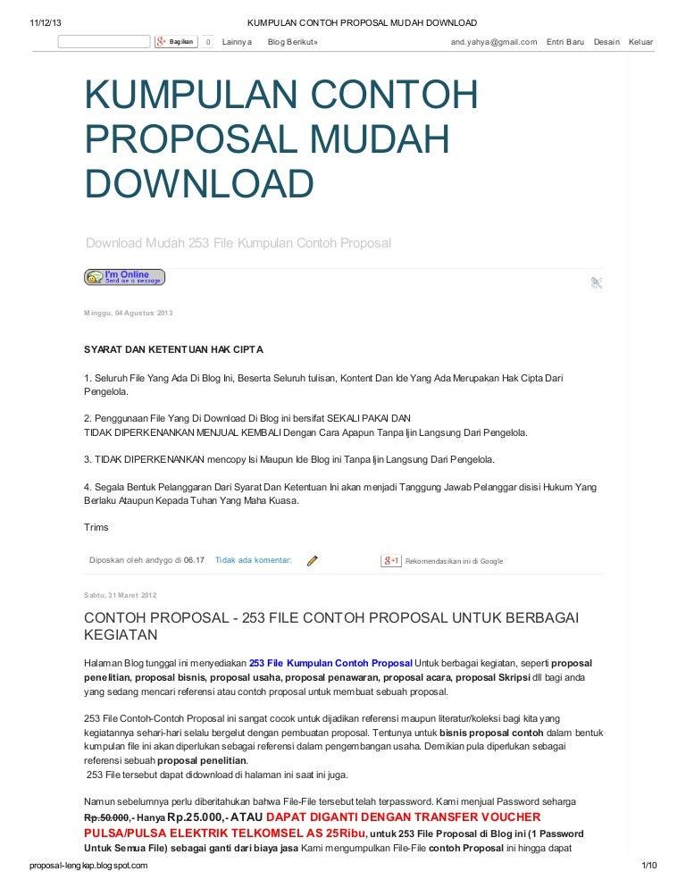 kumpulancontohproposalmudahdownload-131112023047-phpapp01-thumbnail-4 ...