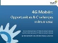 4G Mobile Opportunities & Challenges in Indonesia